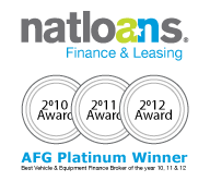 AFG Platinum Winner - 2010, 2011 and 2012